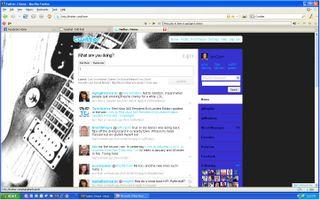 Geo2geo twitter home page